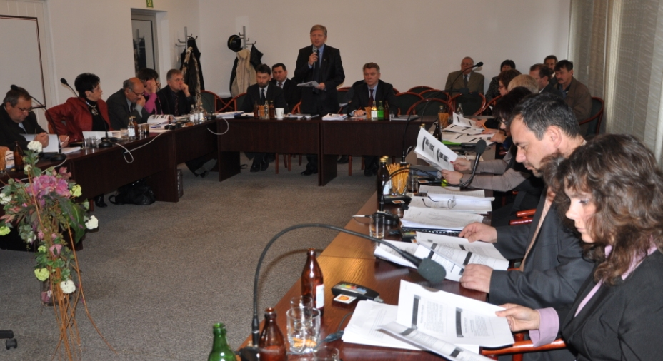 Sesja Rady Miejskiej Jasła