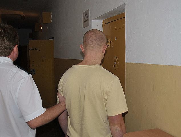Zatrzymany mężczyzna w areszcie jasielskiej Komendy