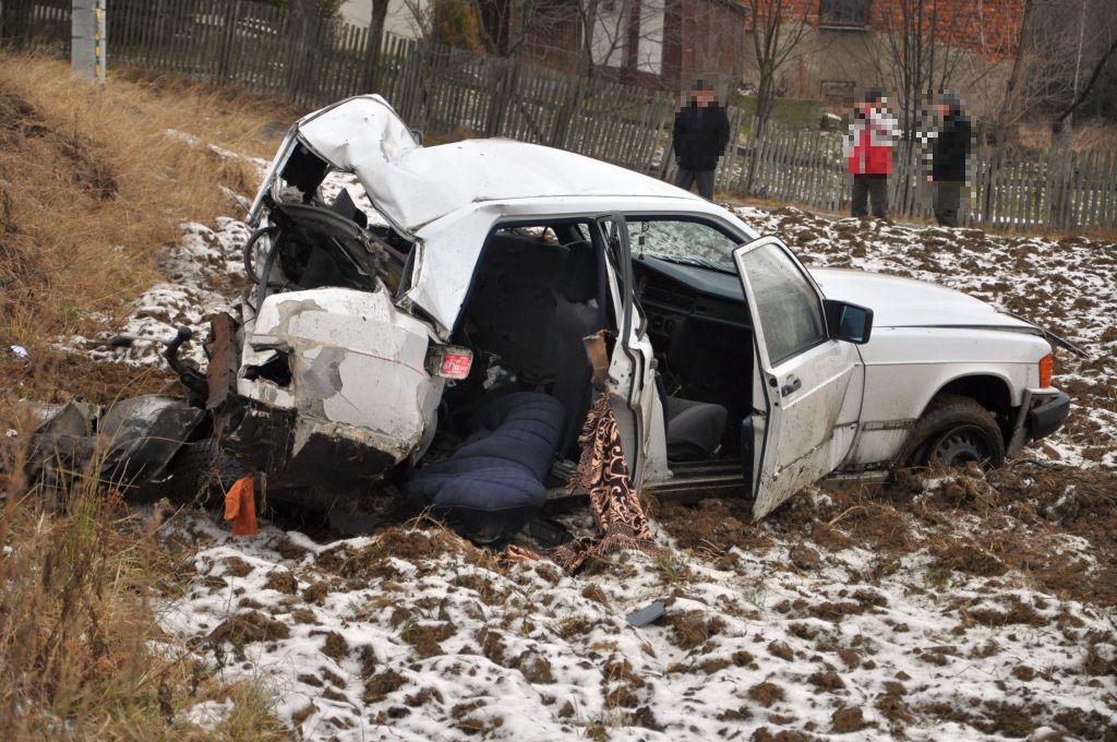 Wypadek w Łężynach