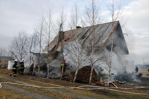 Pożar w Osobnicy