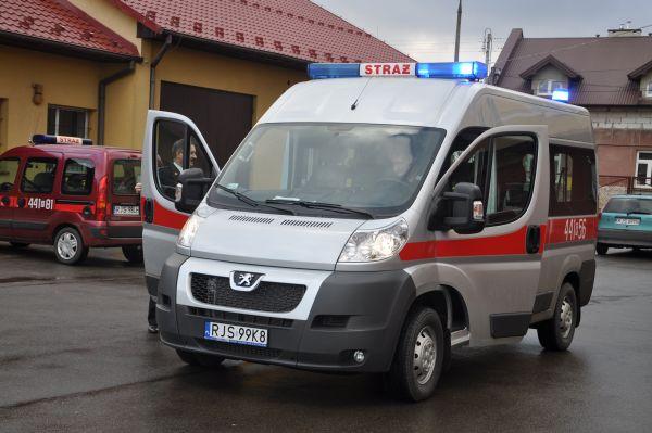 Mikrobus KP PSP Jasło