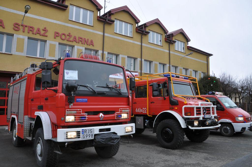 Protest Państwowej Straży Pożarnej