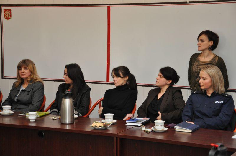 Posiedzenie Zespołu Interdyscyplinarnego