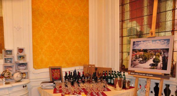 Jasielskie wino w Brukseli