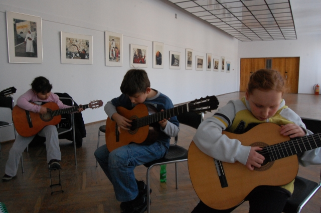 Warsztaty gry na gitarze