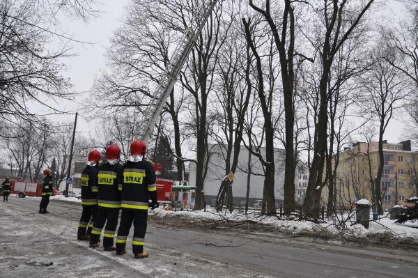 Akcja strażacka