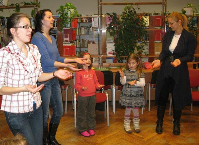 Spotkanie Klubu Czytających Rodzin