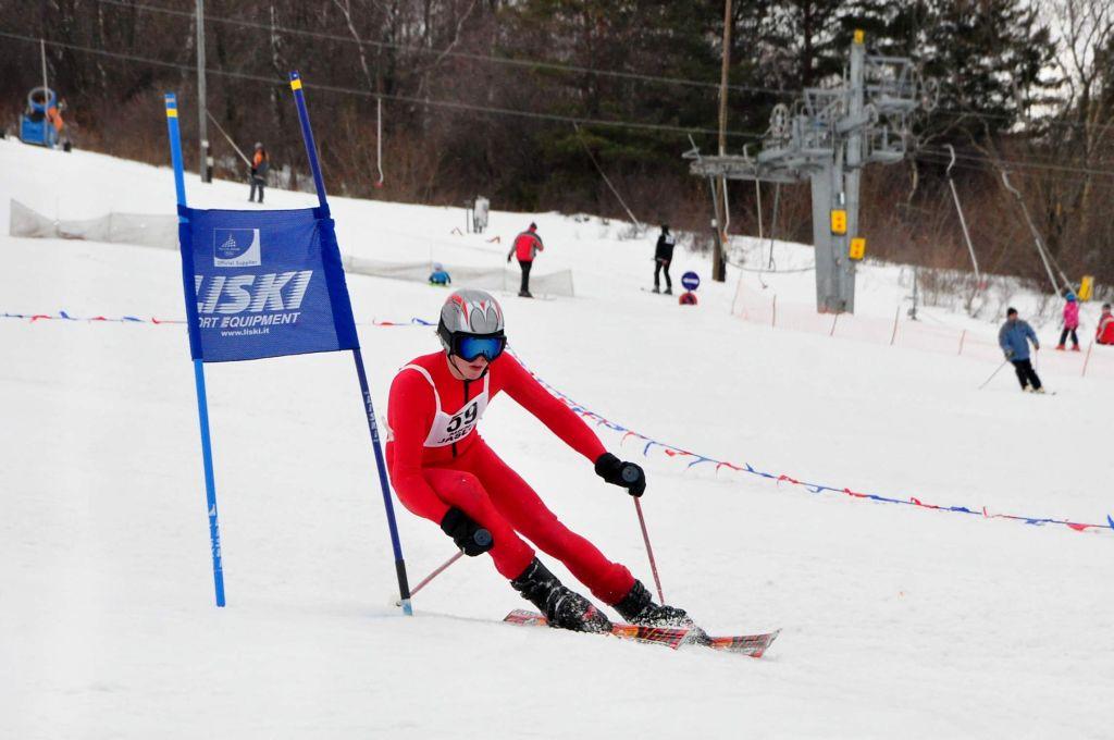 Zawody narciarskie w Chyrowej
