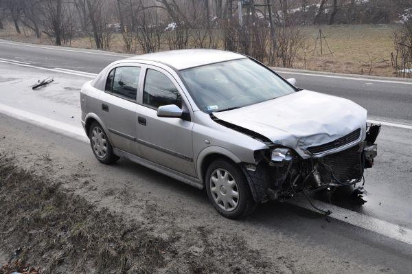 Wypadek na ulicy Krakowskiej