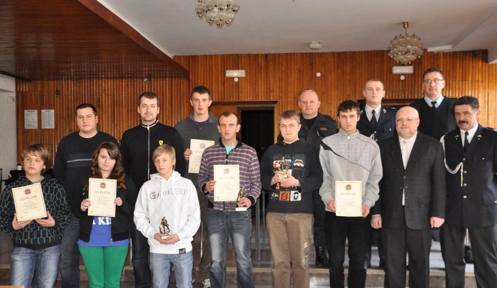 Eliminacje miejskie turnieju Młodzież Zapobiega Pożarom