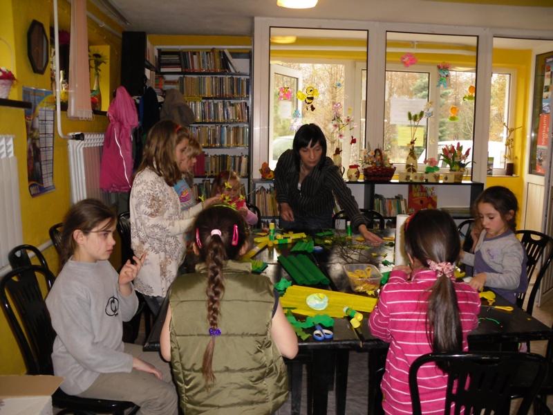 Wielkanocne warsztaty w bibliotece