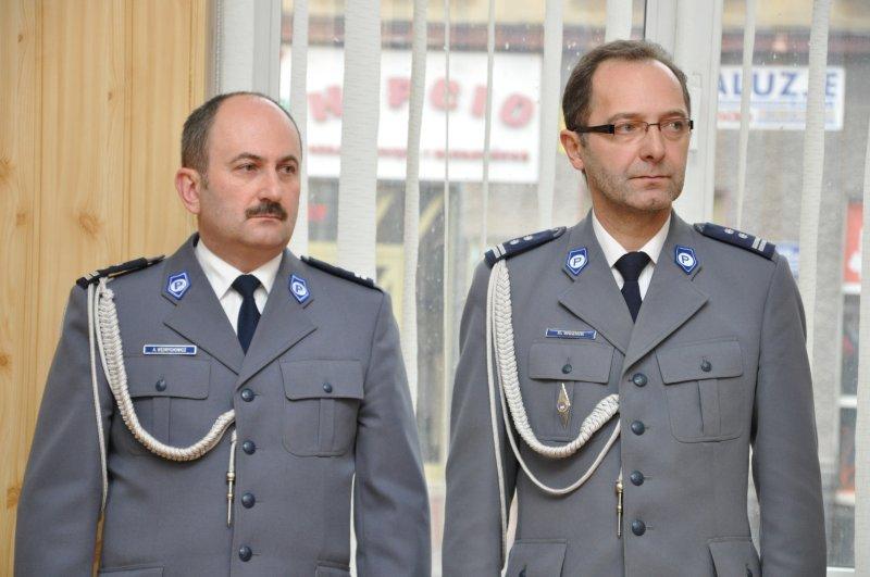 Andrzej Wędrychowicz i Robert Woźnik