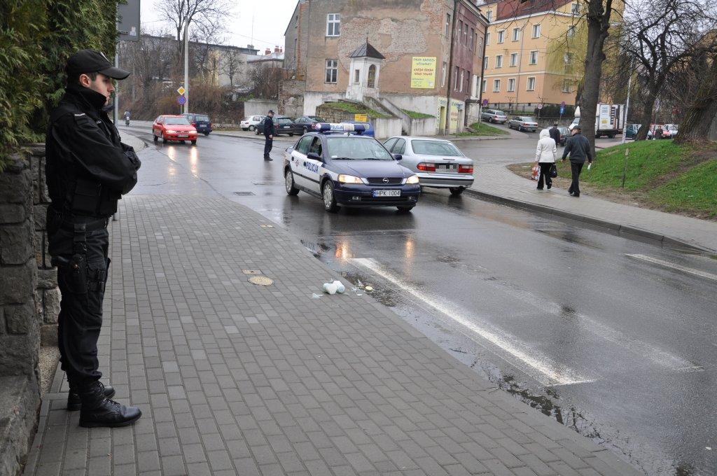 Wypadek na Jagiełły