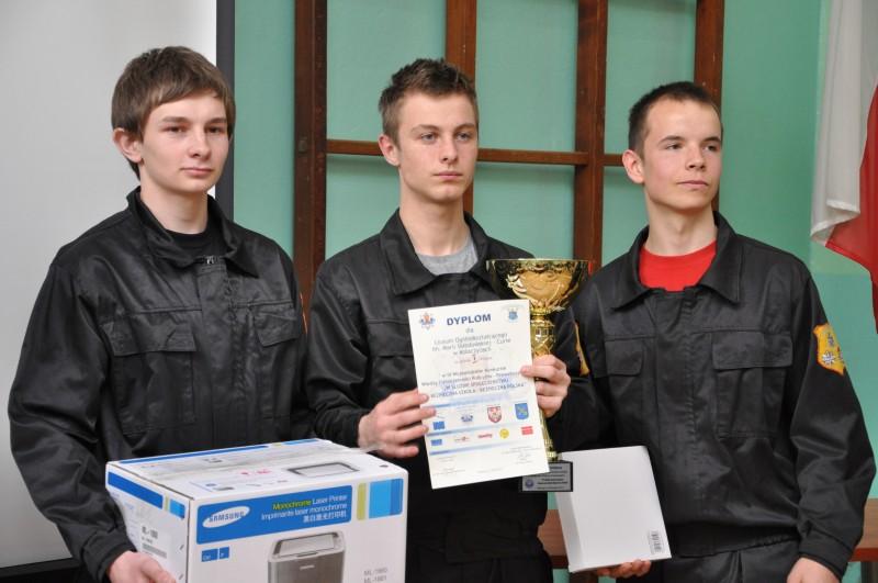 Ekipa z Kołaczyc zajęła pierwsze miejsce w konkursie