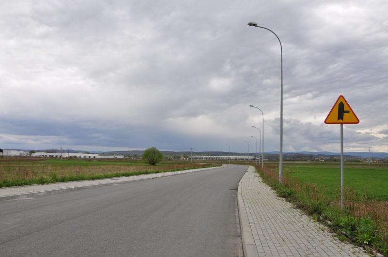 Ulica Produkcyjna w Jaśle