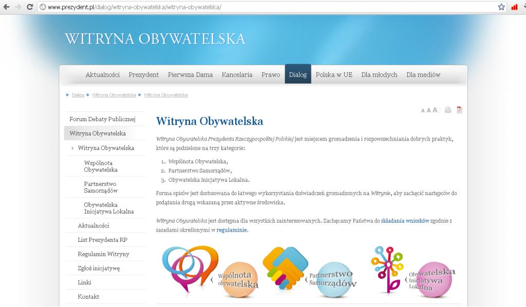 Witryna Obywatelska