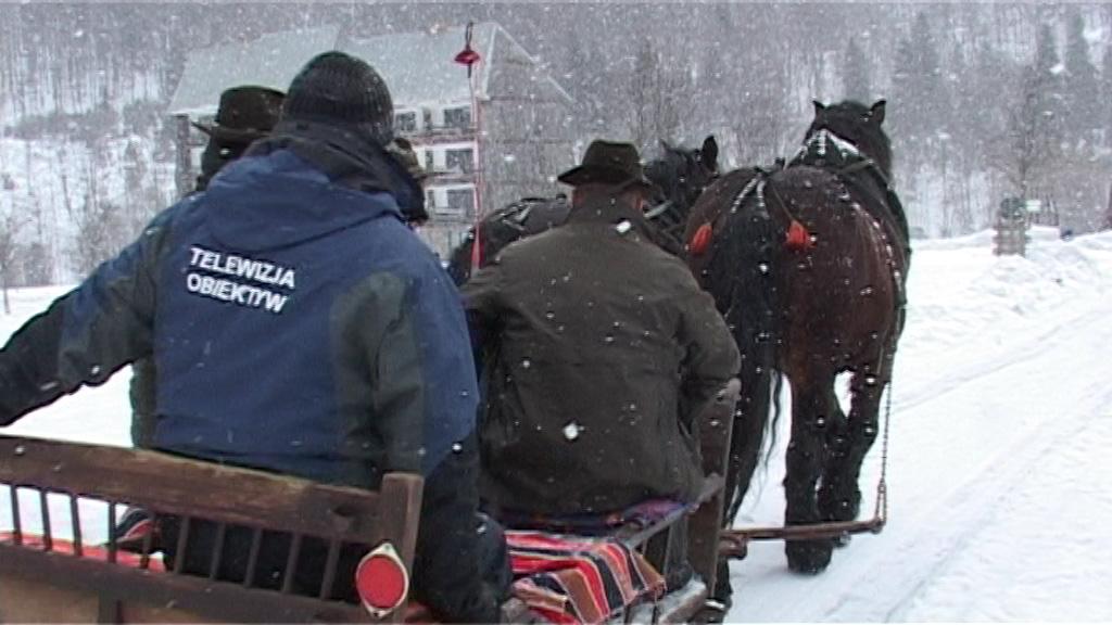 Kadr z filmu zrealizowanego przez TV Obiektyw