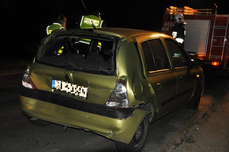 Wypadek w Bieździadce