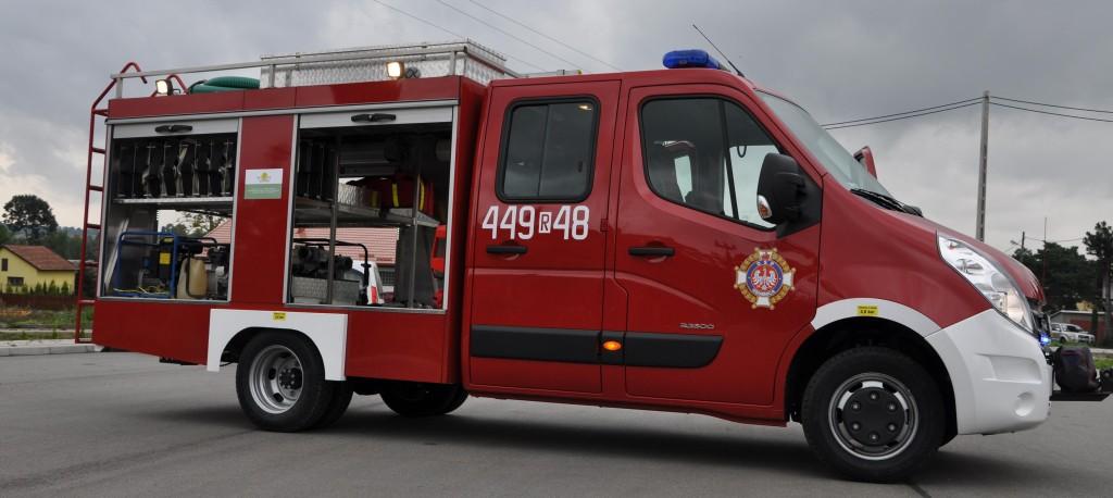 Nowy samochód ratowniczo-gaśniczy OSP Osobnica