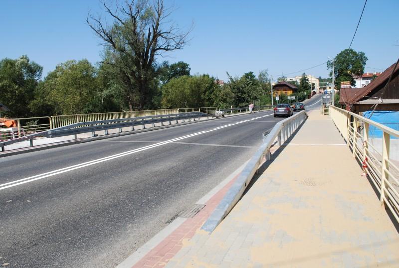 Odbudowany most w Kołaczycach