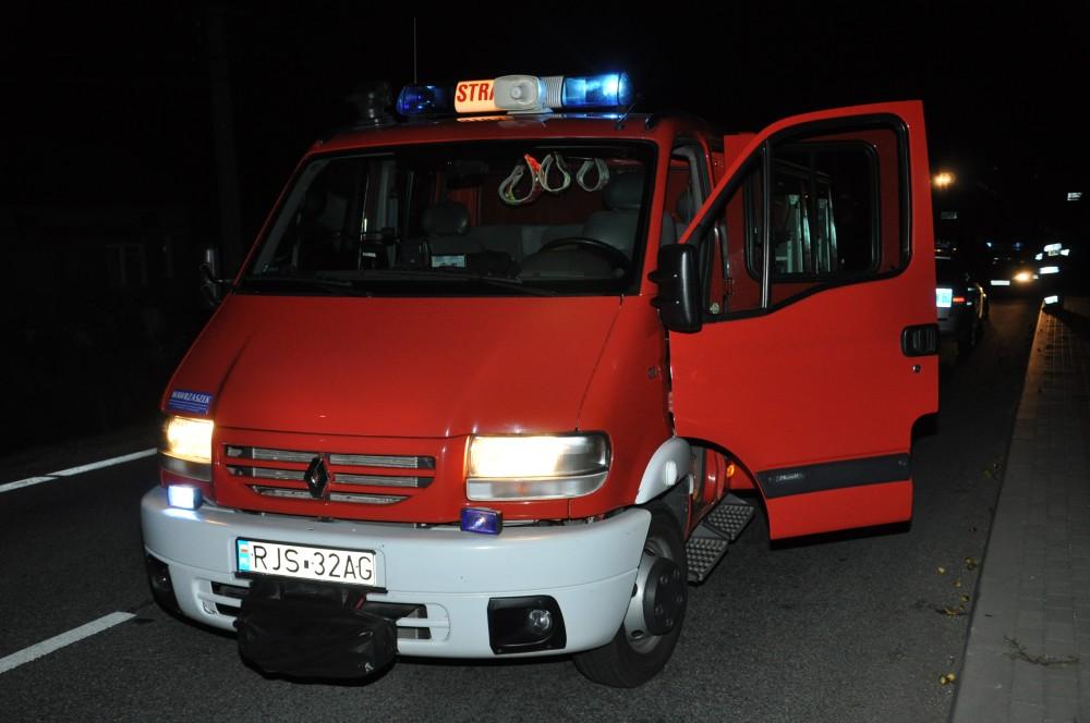 Wypadek w Majscowej