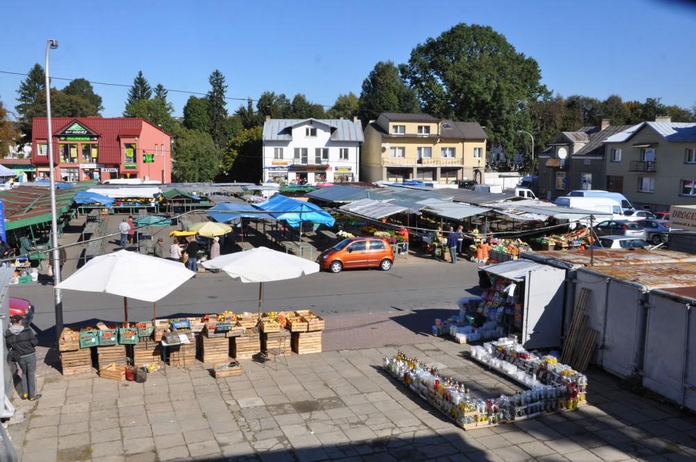 Zielony Rynek w Jaśle