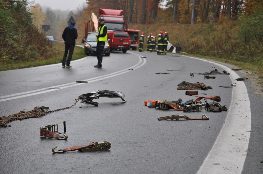 Wypadek śmiertelny w Warzycach