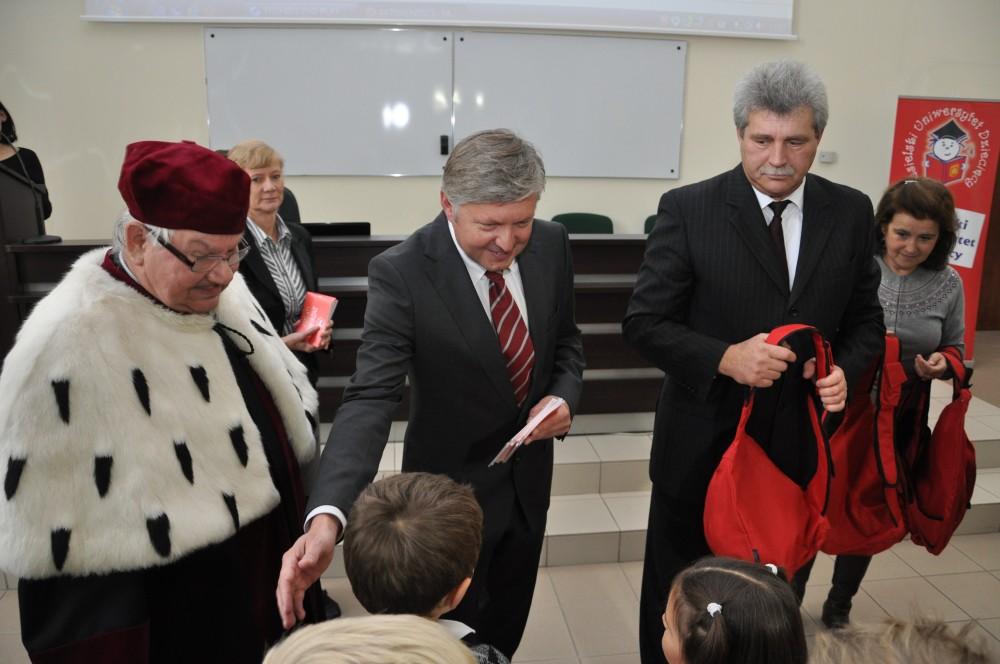 Inauguracja trzeciej edycji programu Jasielski Uniwersytet Dziecięcy