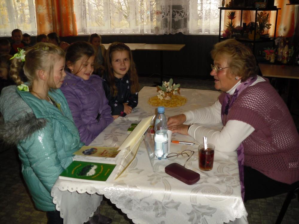 Spotkanie autorskie z Marią Tomasik