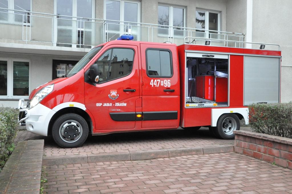 Nowy samochód OSP Jasło-Żółków