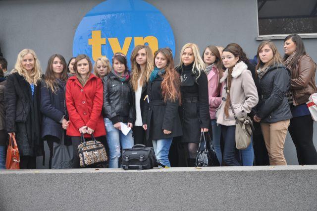 Młodzi dziennikarze z Kołaczyc w stacji TVN