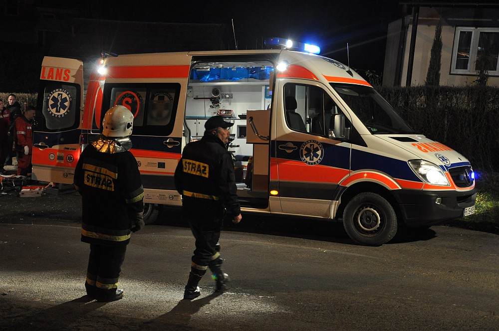 Wypadek śmiertelny w Dobrucowej