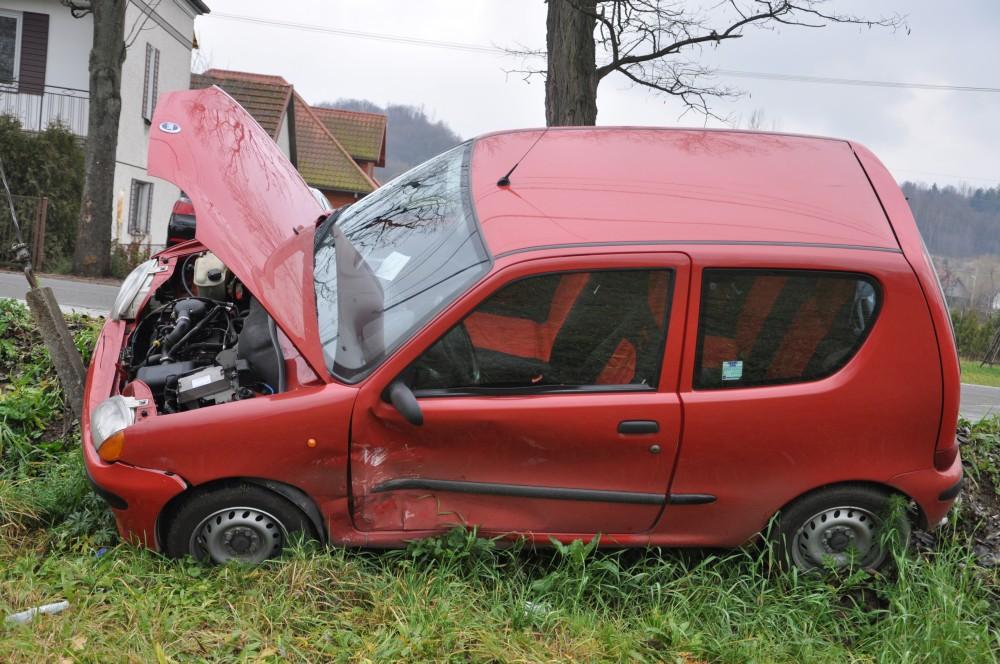 Wypadek w Bieździedzy