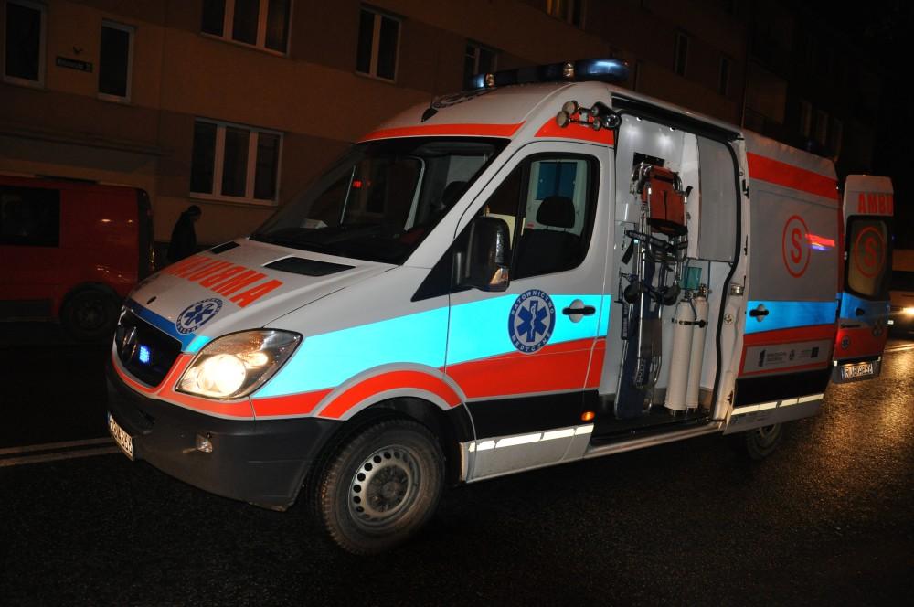 Potrącenie na ulicy Kościuszki