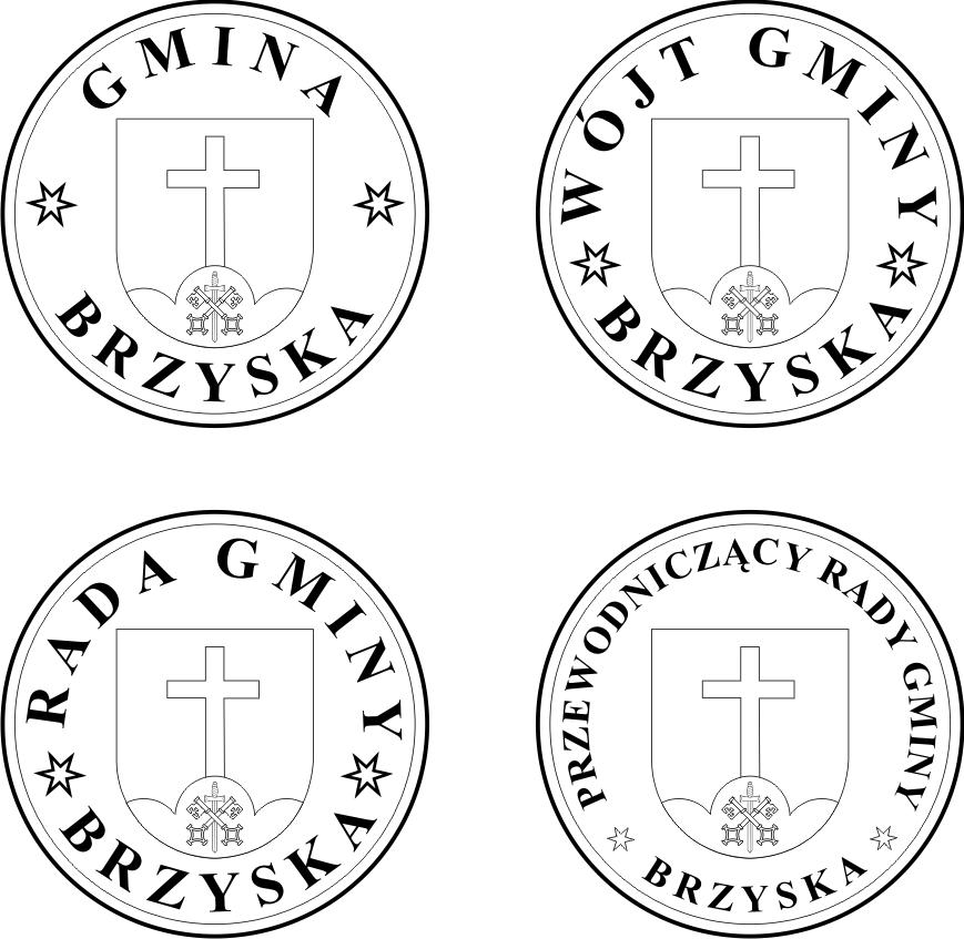 Projekt pieczęci gminy Brzyska