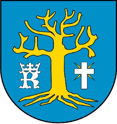Projekt herbu gminy Osiek Jasielski