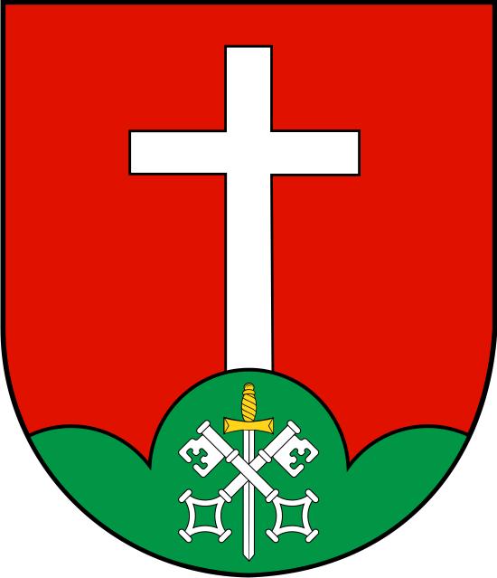 Projekt herbu gminy Brzyska