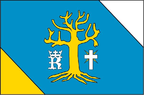 Projekt flagi gminy Osiek Jasielski