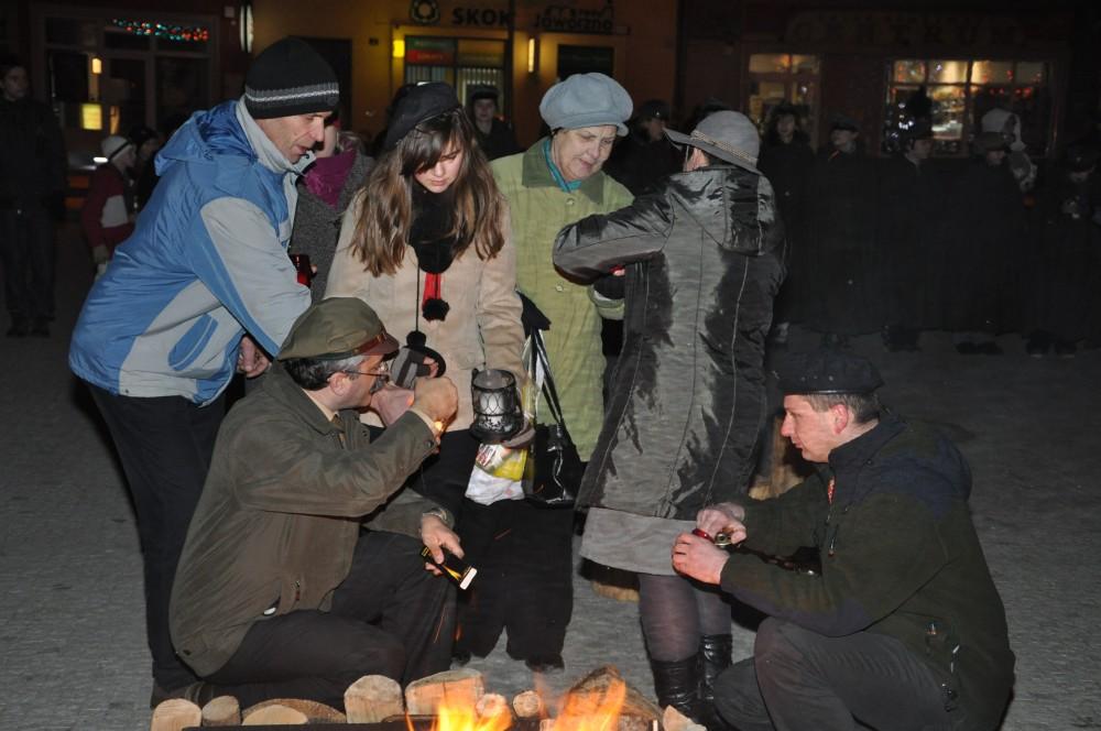 Betlejemskie Światło Pokoju 2012 w Jaśle