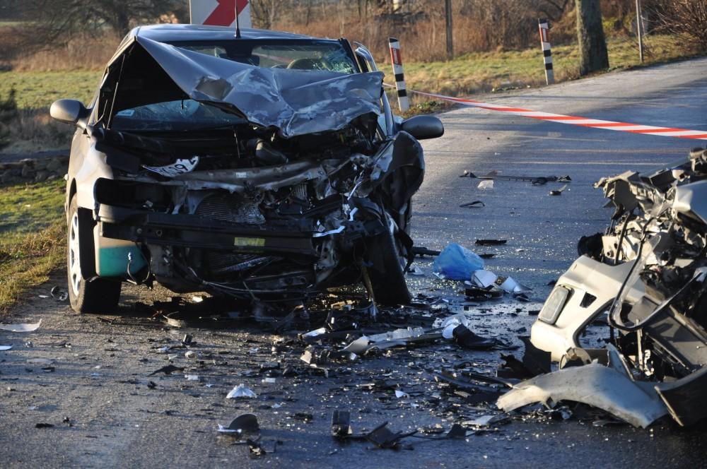 Wypadek w Kołaczycach