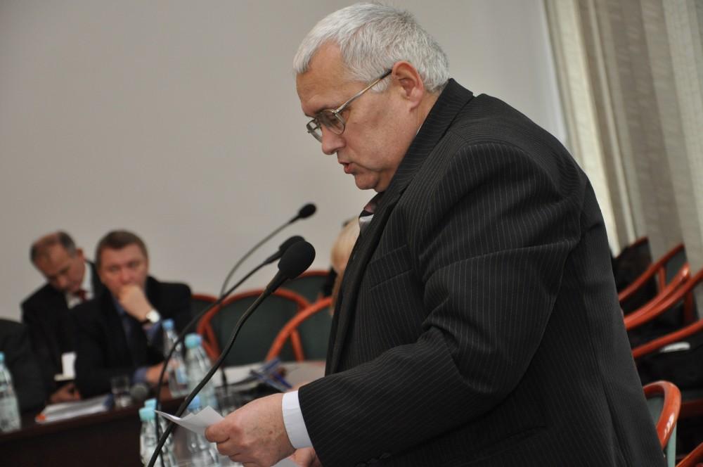 Radny Wacław Dusza