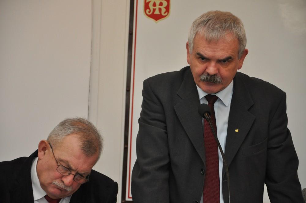 Radny Janusz Przetacznik