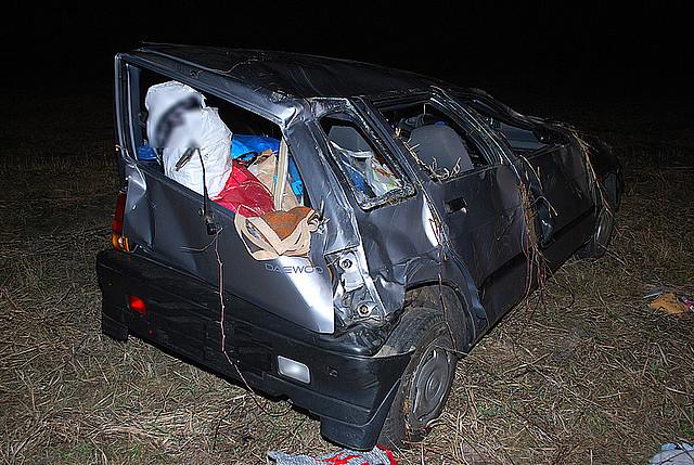 Wypadek w Jaśle