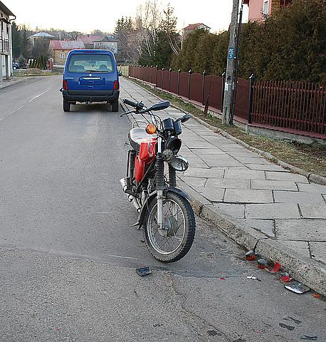 Wypadek w Niegłowicach