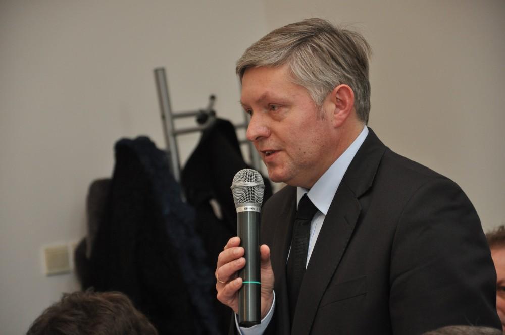 Burmistrz Jasła Andrzej Czernecki