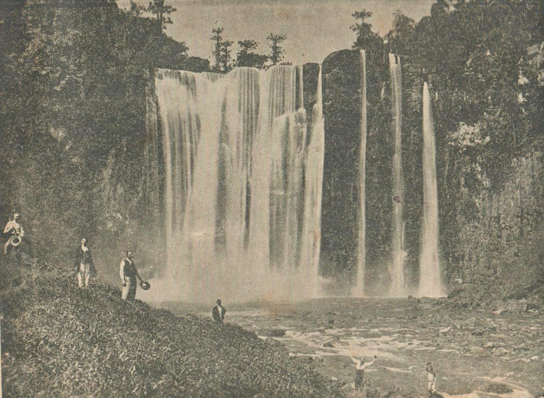 Salto Visconde de Rio Branco - Estado do Parana - 1948 rok