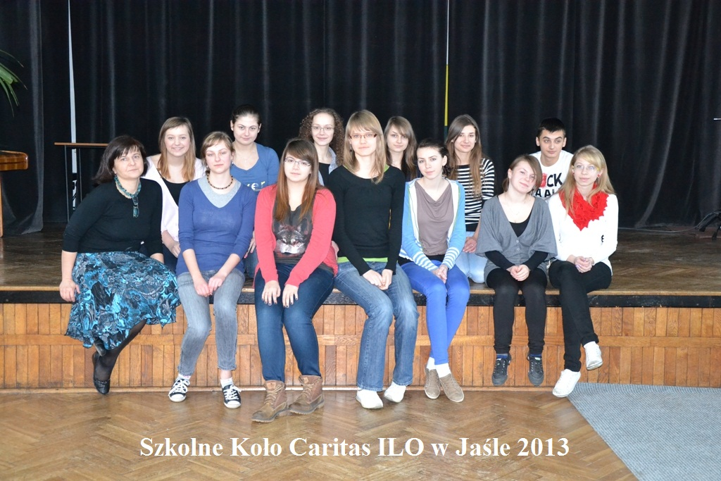 Szkolne koło Caritas przy I LO w Jaśle