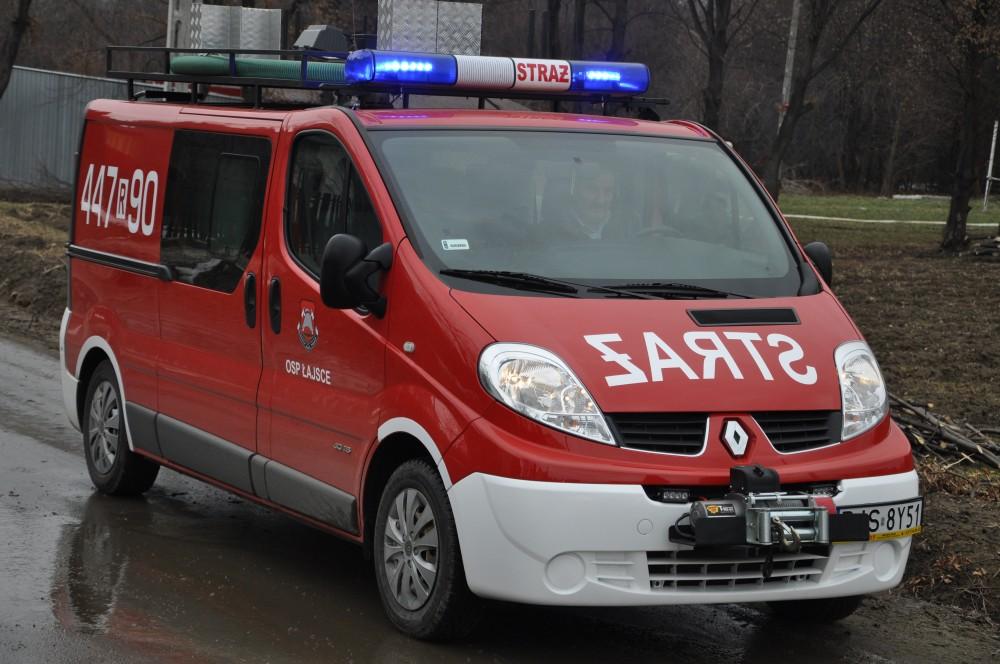 Pożar w Tarnowcu