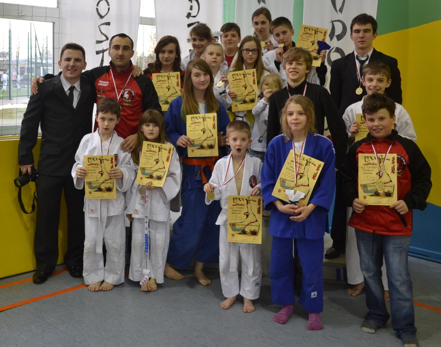 Judocy UKS MOSiR Jasło