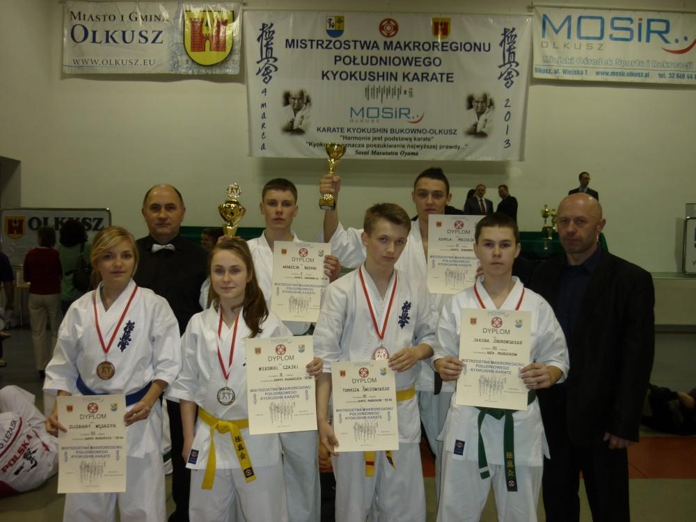 Mistrzostwa Makroregionu Południowego w Karate Kyokushin
